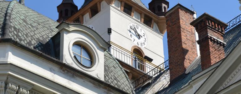 Radniční věž s expozicí Pravěk Uničovska
