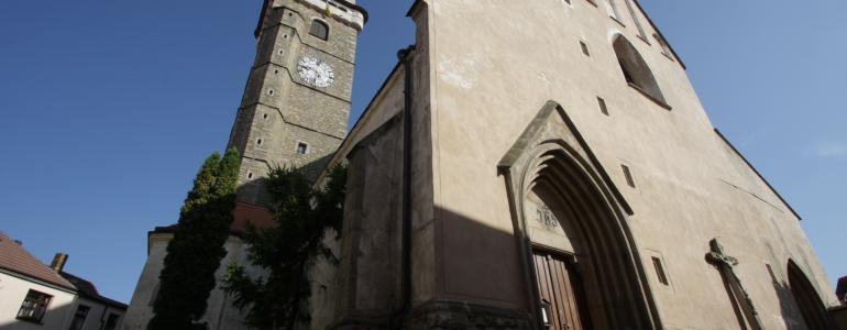 Kostel Nanebevzetí Panny Marie - Slavonice