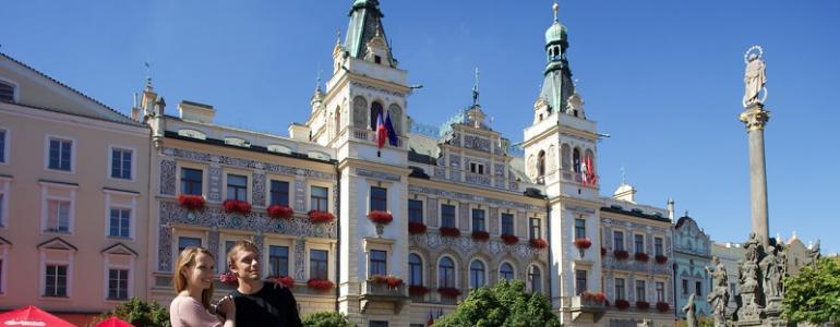 Radnice - Pardubice