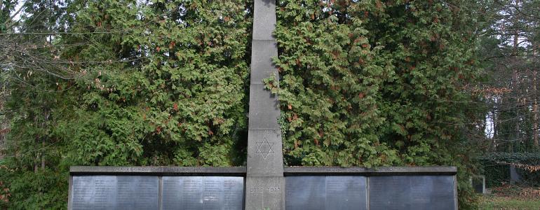 Nový židovský hřbitov - Kolín