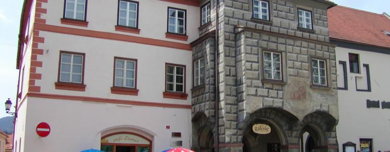 Měšťanský dům čp. 184, zv. Bozkovského dům - Prachatice