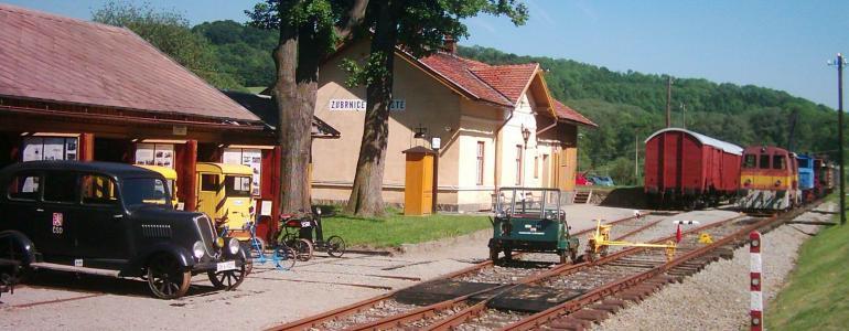 Železniční muzeum Zubrnice