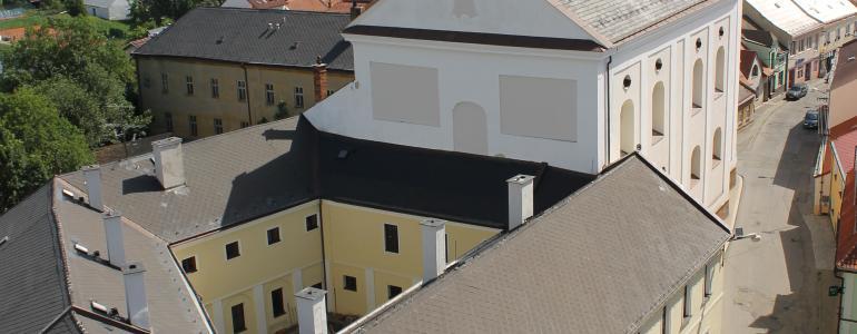 Městské muzeum - bývalý konvent Augustiniánského kláštera - Jevíčko