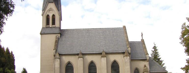 Hřbitovní kaple Nejsvětějšího Srdce Páně - Vimperk