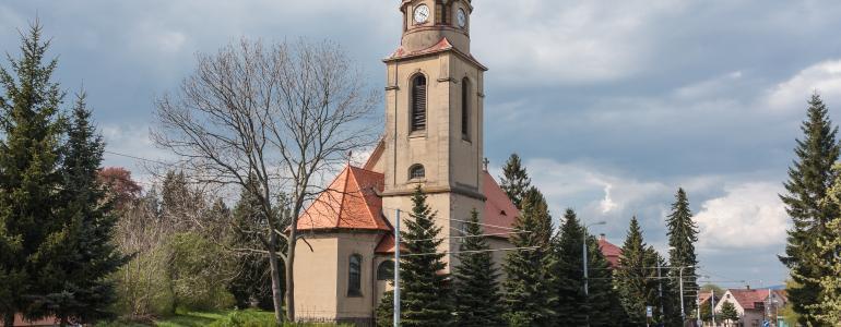 Kostel sv.Bonifáce - Liberec
