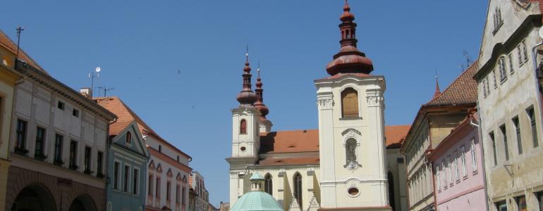 Děkanský chrám Nanebevztetí Panny Marie - Žatec