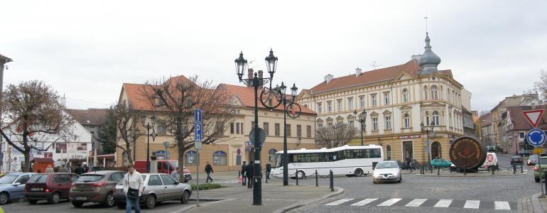 Městské opevnění a gotický most