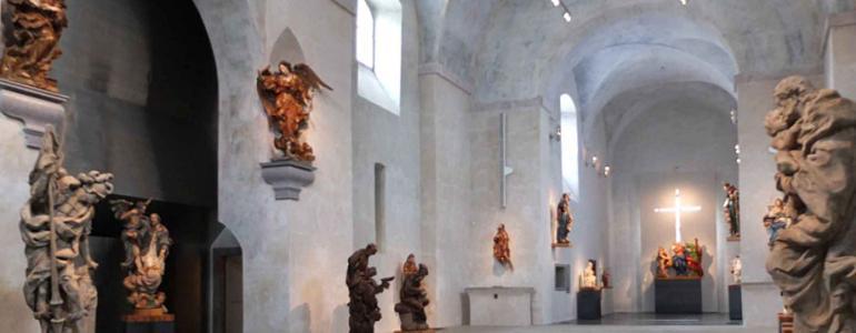 Kapucínský kostel sv. Josefa - Muzeum barokních soch - Chrudim