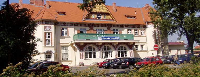 Výpravní budova ČD - nádraží - Uherské Hradiště