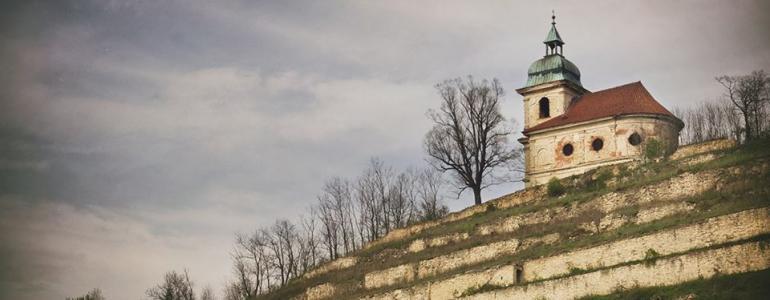 Kostel Božího hrobu a sv. Ducha, exteriér - Liběchov